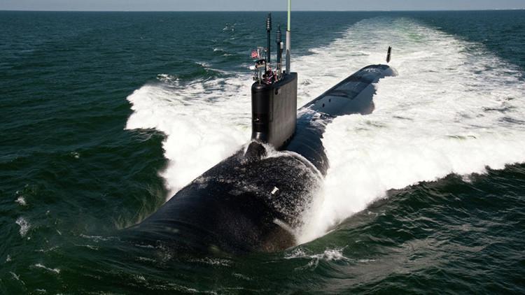 EE.UU., listo para botar su nuevo submarino nuclear de ataque rápido
