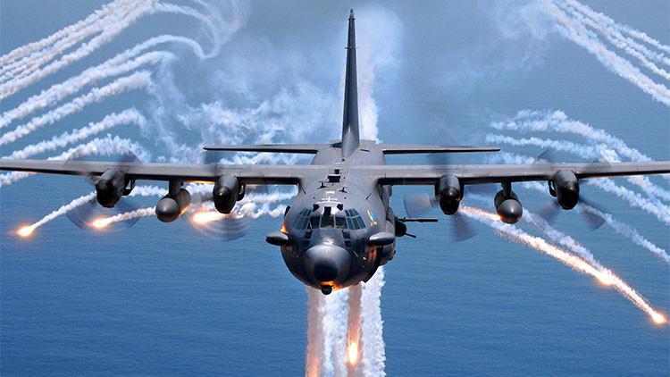 EE.UU. instalará 'rayos de dolor' en sus nuevos aviones de fuego pesado