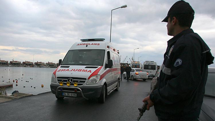 Un desconocido enmascarado abre fuego en un hotel de Turquía