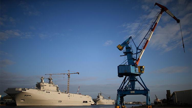 Rusia y Francia fijan el plazo y el monto de la indemnización por los Mistrales