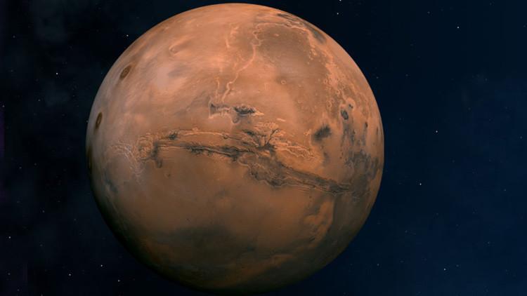 Descubren en Marte una zona anómala inexplicable para la ciencia