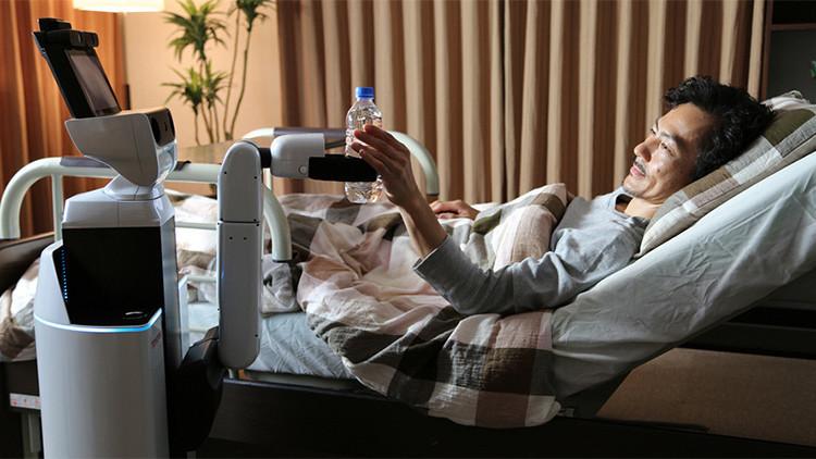 La reencarnación de 'Arturito' R2-D2: crean un innovador robot que ayuda a enfermos y ancianos