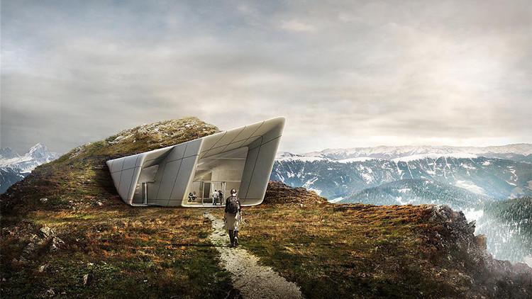 Fotos: Abren un impresionante museo futurista en los Alpes italianos