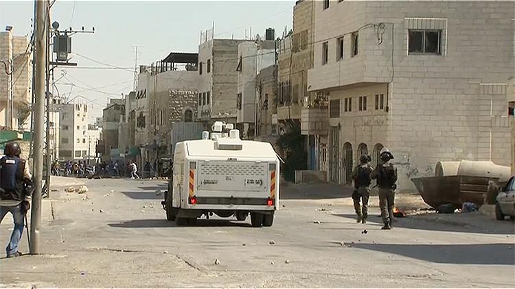 Video: Se registran enfrentamientos entre palestinos y Policía israelí en Hebrón