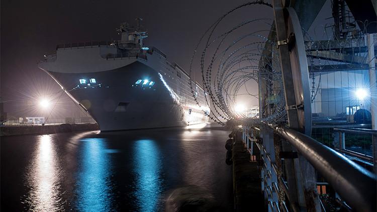 La odisea sobre la entrega de los buques Mistral 'toca fondo': Se cancela el acuerdo