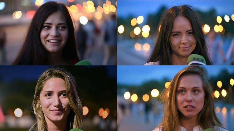 ¿Están reñidas belleza e inteligencia?: RT pone a prueba a las chicas rusas