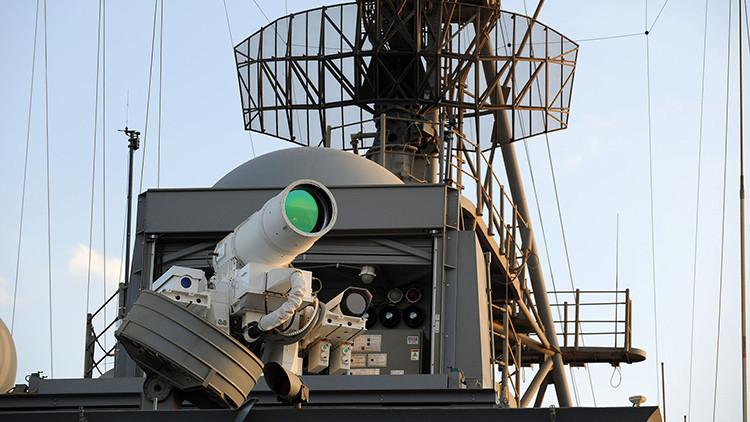 Láser destructivo y cañones de riel: EE.UU. contará con armas futuristas para 2020