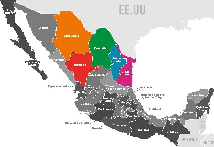 Los estados mexicanos más afectados por la reforma energética