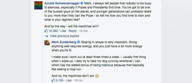 Hawking a Zuckerberg