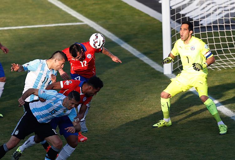 EN DIRECTO: Chile y Argentina Copa América 2015