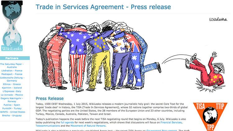 El 'default' de Grecia y nuevos revelaciones de WikiLeaks
