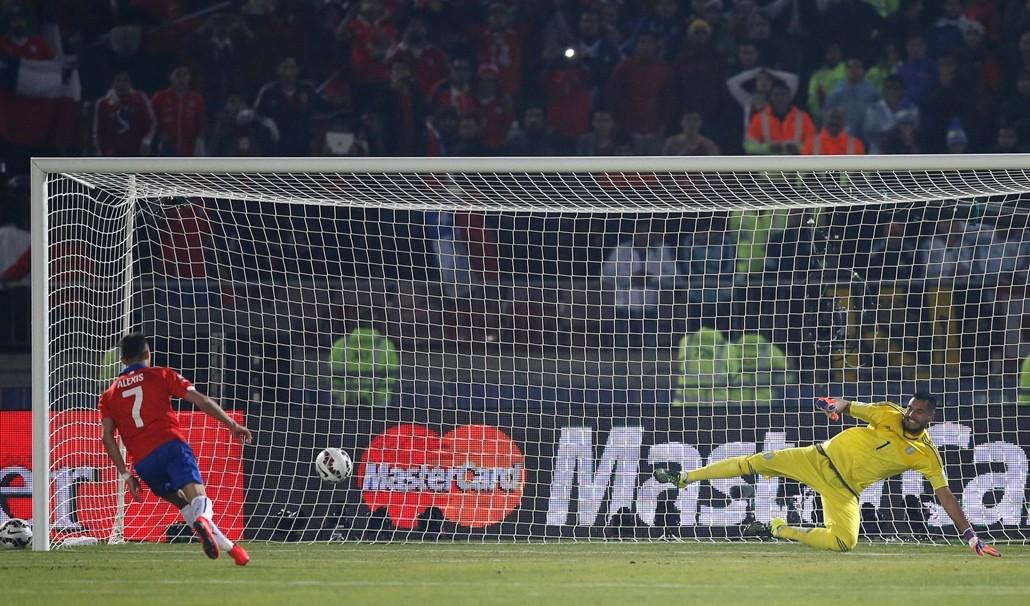 Alexis Gol Copa América 2015 Chile Argentina