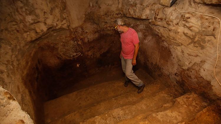 emodelan su casa en Jerusalén y hallan una reliquia de 2.000 años bajo sus pies