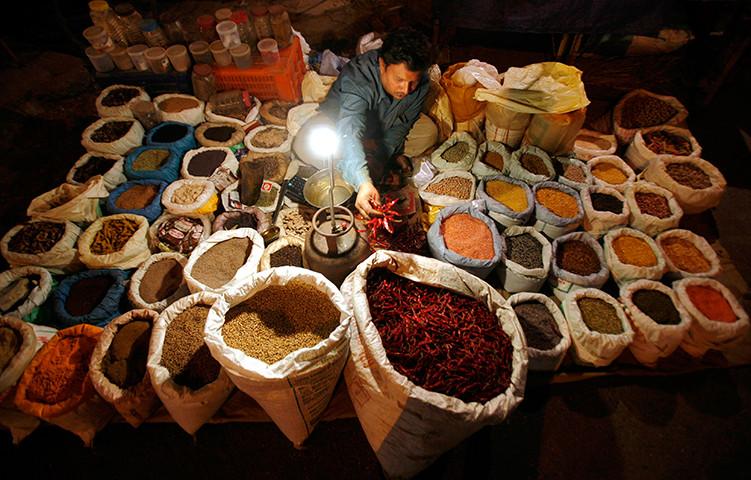 Especias picantes indias por un estomago sano