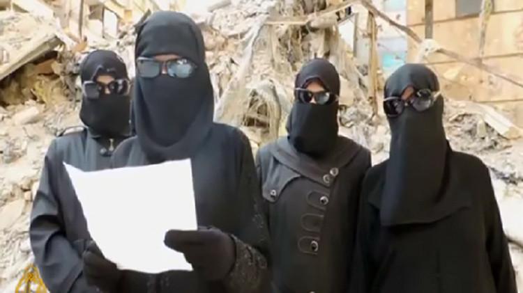 La 'Gestapo femenina' del Estado Islámico tortura y ejecuta a las mujeres de Raqqa