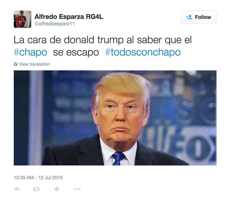 """Twitter: """"Hasta 'el Chapo' Guzmán salió el sábado por la noche"""""""