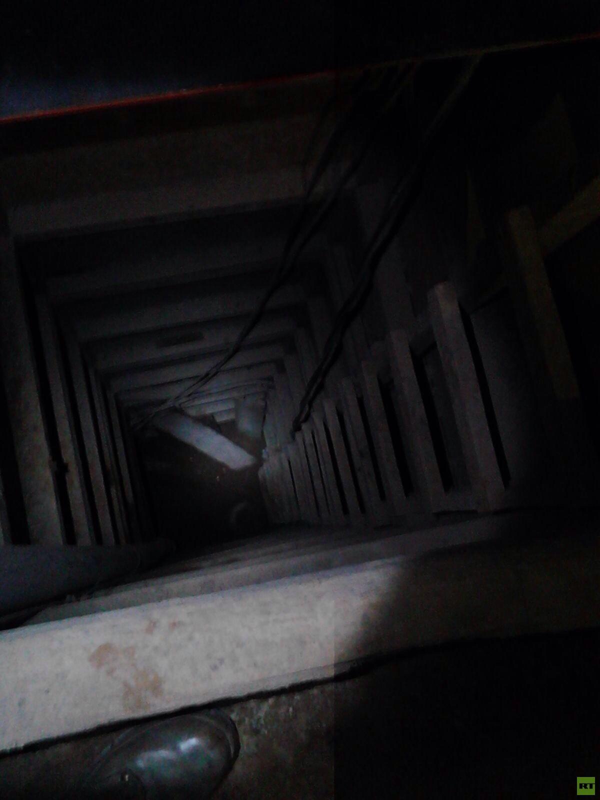 imágenes exclusivas del túnel de Chapo