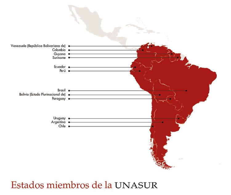Unión de Naciones Suramericanas (Unasur) - RT