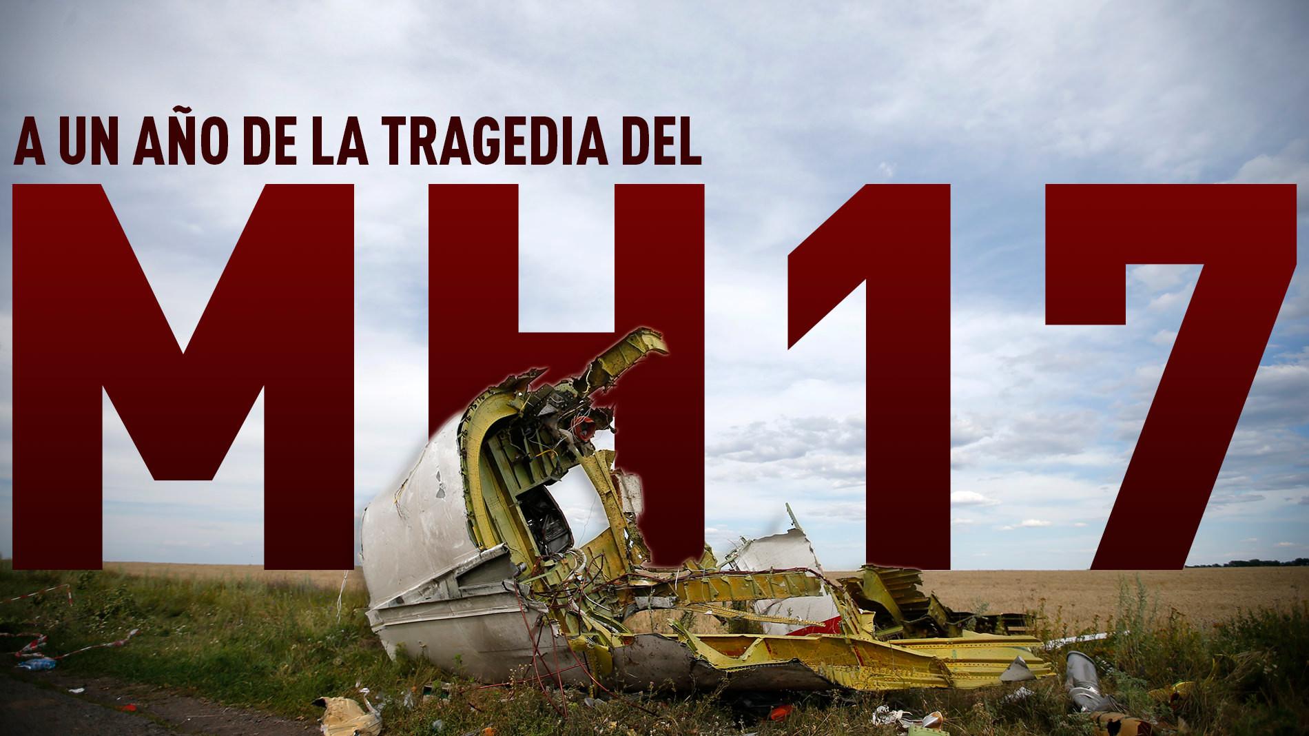 A un año de la tragedia del MH17: Una investigación politizada y sin resultados