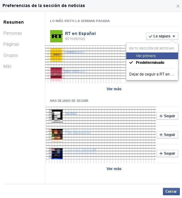 Conozca cómo tener el control de sus noticias en Facebook en segundos