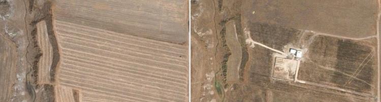 Una imagen prueba que la 'casa de salida' para 'El Chapo' fue construida hace 5 meses