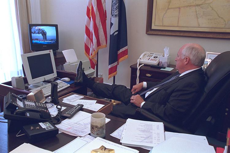 Hacen públicas las fotos secteras que captaron la reacción de la Casa Blanca a los ataques del 11-S