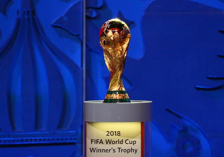 Putin participa en el sorteo preliminar de la Copa Mundial de la FIFA de 2018