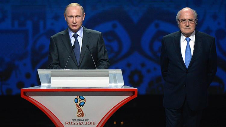Putin participa en el sorteo de las eliminatorias del Mundial Rusia 2018