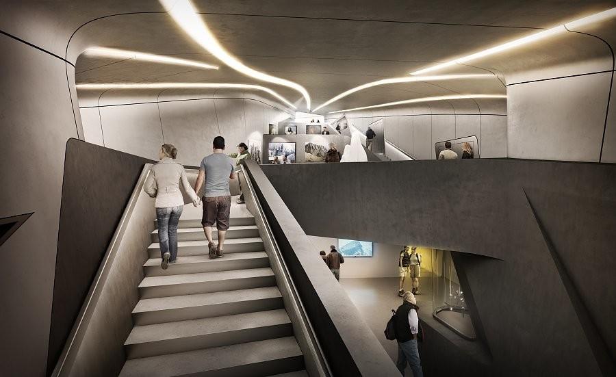 Abren un impresionante museo futurista en montaña en Italia