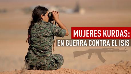 mujeres kurdas con el isis
