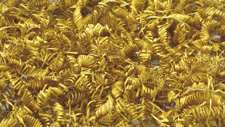 Los arqueólogos escavan misteriosas espirales de oro en Dinamarca