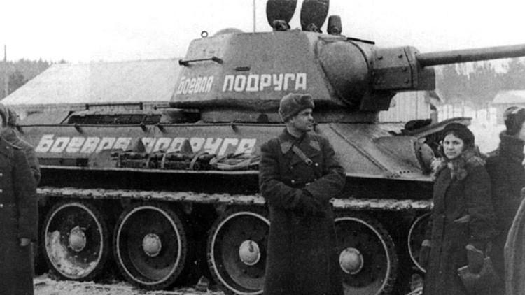 'Compañera de armas': La rusa que se vengó se la muerte de su marido con un tanque