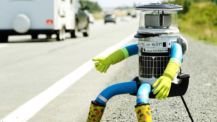 El robot autoestopista 'muere' en Filadelfia decapitado por vándalos