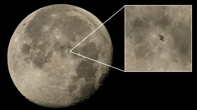 ¿Qué es lo que oculta esta foto de la Luna por la NASA?