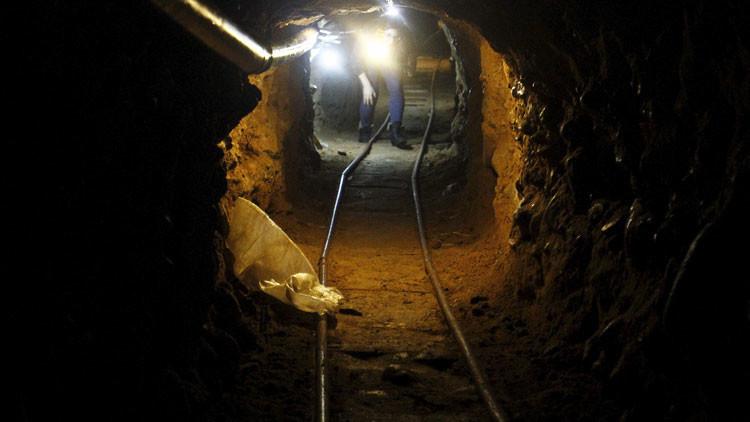 Descubren un pasadizo secreto del cártel de Sinaloa en la frontera entre México y EE.UU.