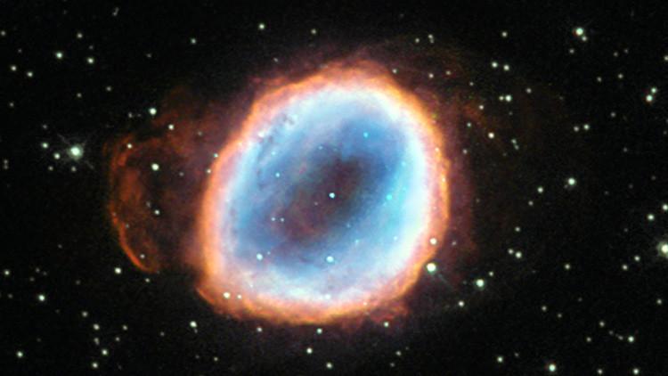 La NASA publica las impresionantes imágenes de una estrella a punto de desaparecer