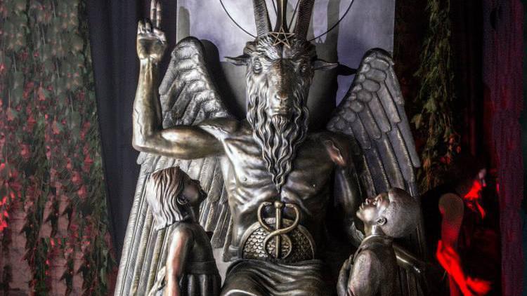 EE.UU.: Los códigos ocultos de la controvertida estatua de satán de Detroit