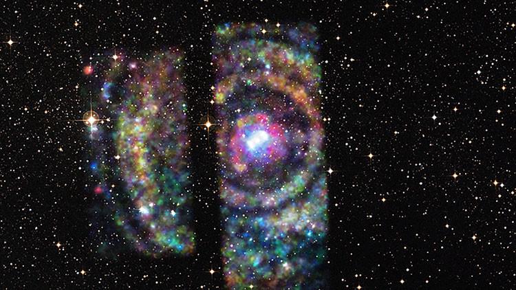 Resultado de imagen de Astronomos descubren una gran estructura más allá de nuestro Universo