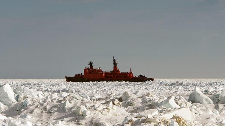 Rusia reclama territorios árticos ante la ONU
