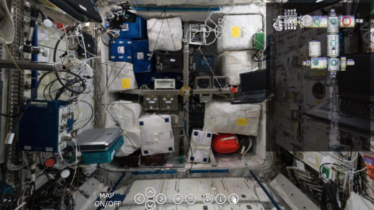 ¡Bienvenidos! Impactante viaje virtual por las entrañas de la Estación Espacial Internacional