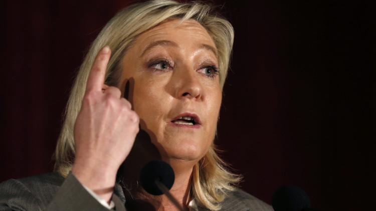 """Marine Le Pen: """"Cancelando el contrato de los Mistral Francia ha minado su credibilidad"""""""