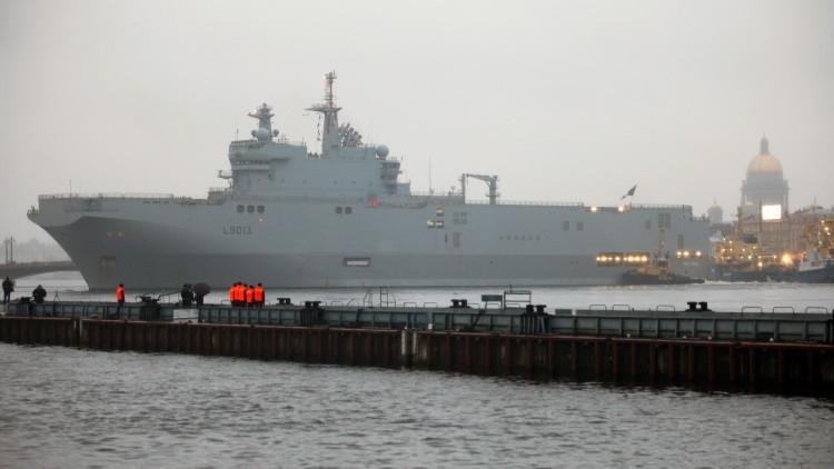 ¿Quiénes son los compradores potenciales de los buques Mistral no entregados a Rusia?