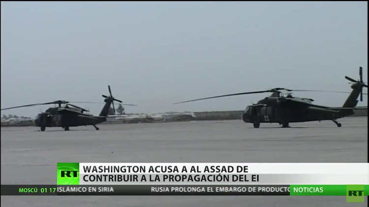 Analista: EE.UU. culpa a Al Assad del terrorismo que Washington sembró