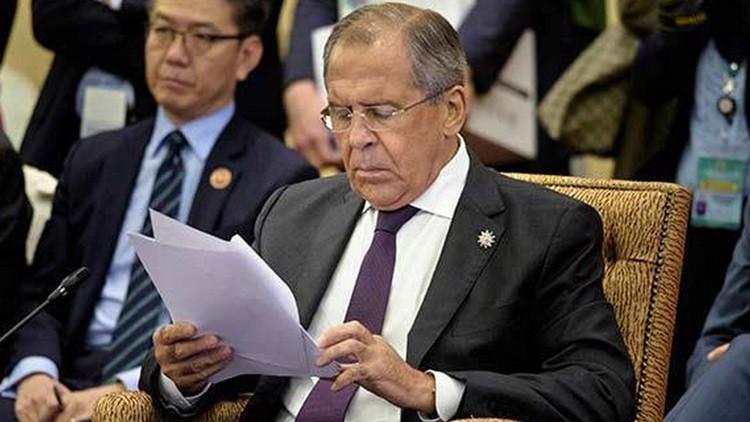 EE.UU. se enfada con el canciller ruso Lavrov por sus reproches a Obama