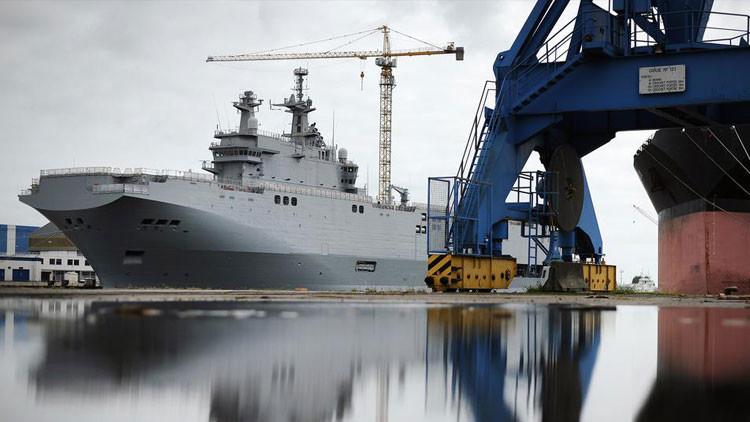 'Je Suis Mistral': 'Desrusificación' de los buques puede salirle a Francia por un ojo de la cara