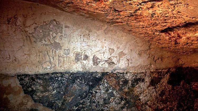 Encuentran un misterioso mensaje con grafitis dentro de una cámara de hace 2.000 años en Israel