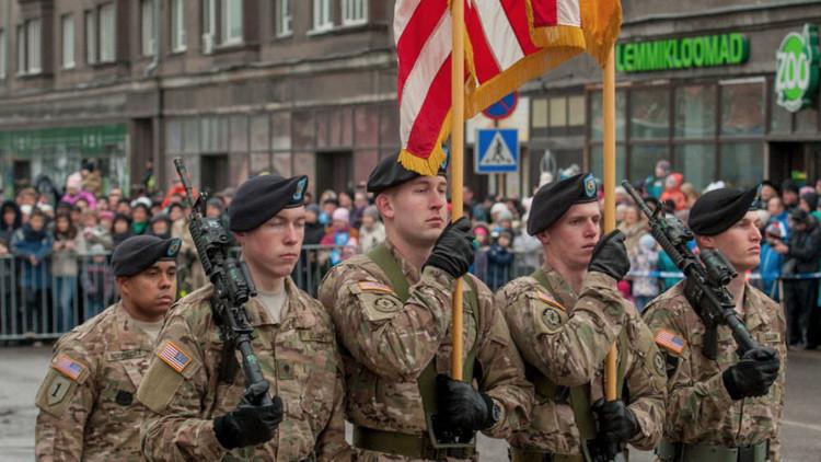 EE.UU. promete invertir 68 millones dólares en las bases militares de la OTAN en Estonia