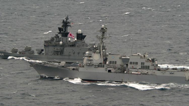 EE.UU. aprueba vender a Japón sistemas de defensa antimisiles Aegis