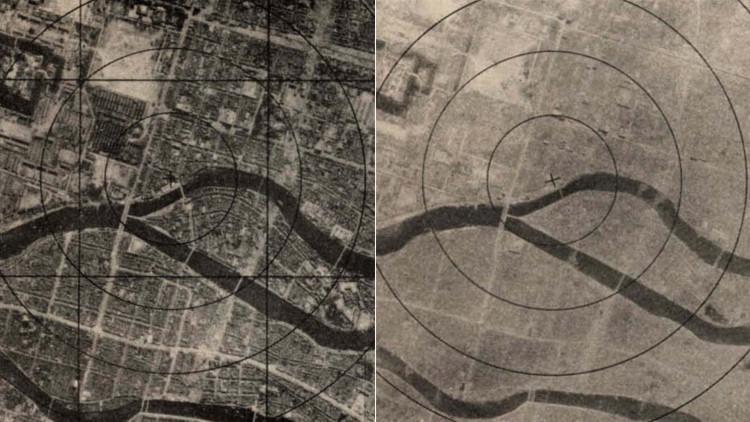 EE.UU. publica fotos de Nagasaki antes y después de la bomba atómica