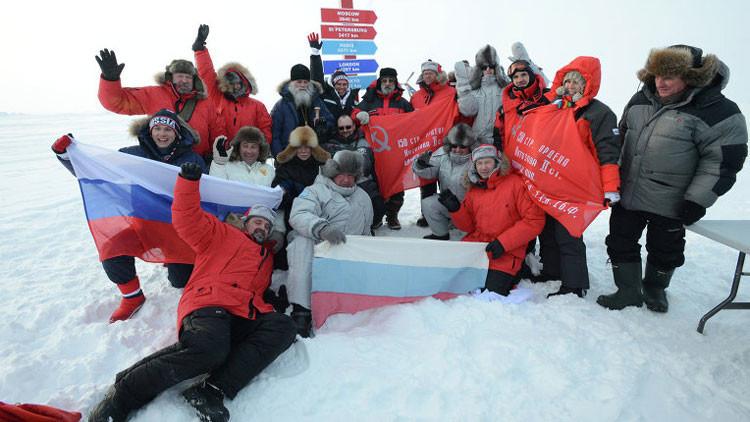 """""""A Occidente le molesta que Rusia siga las reglas del juego en el Ártico"""""""